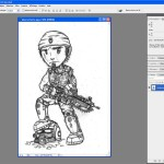 Tutoriel Photoshop - Passage de l'image en mode RVB