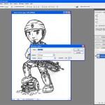 Tutoriel Photoshop - Fenêtre de création du calque Calque 0