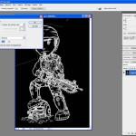 Tutoriel Photoshop - Fenêtre de remplissage avec la couleur de premier plan