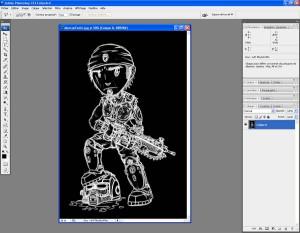 Tutoriel Photoshop - Calque 0 totalement nettoyé et proprement détouré