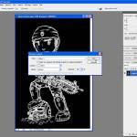 Tutoriel Photoshop - Fenêtre de création du Calque 1