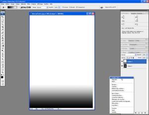 Tutoriel Photoshop - Menu de création d'un nouveau calque de couleur unie
