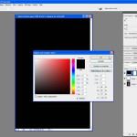 Tutoriel Photoshop - La fenêtre calque de couleur unie prend la couleur de premier plan par défaut