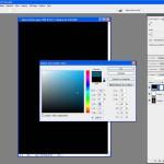 Tutoriel Photoshop - Choix de la couleur dans le sélecteur de couleur