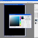 Tutoriel Photoshop - Validation de la couleur choisie en cliquant sur OK