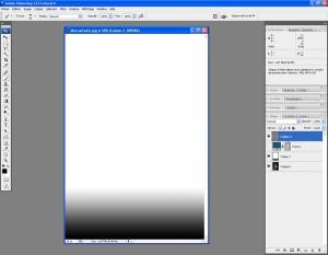 Tutoriel Photoshop - Un nouveau calque appellé Calque 2 est créé
