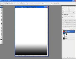 Tutoriel Photoshop - On clique sur le masque du Calque 2 pour le sélectionner