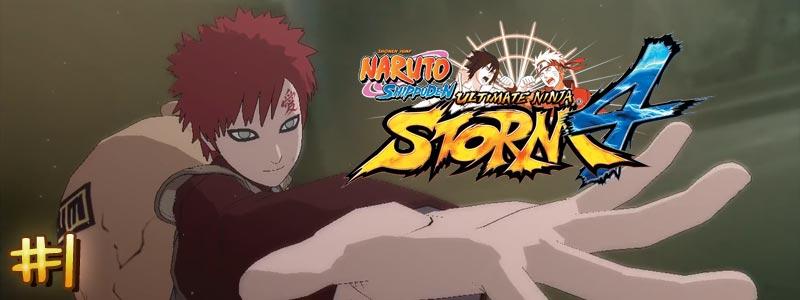 [Let's Play – DLC Gaara] Naruto Shippuden Ultimate Ninja Storm 4 – Partie 1/2